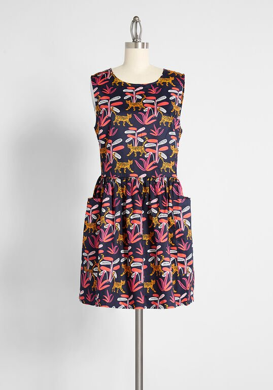 ModCloth - Bold Notion Sleeveless Dress
