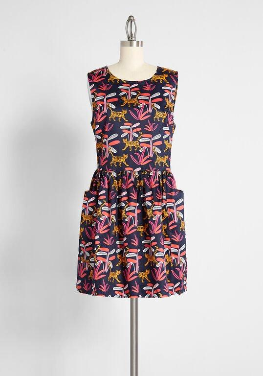 ModCloth - Bold Notion Sleeveless Dress