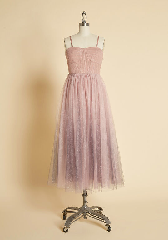 ModCloth - Pretty Mesh Tulle Dress