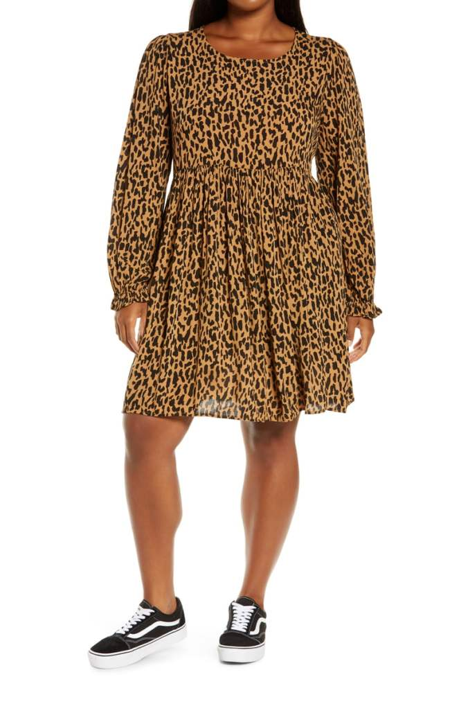 Nordstrom Sale BP Leopard Print Dress