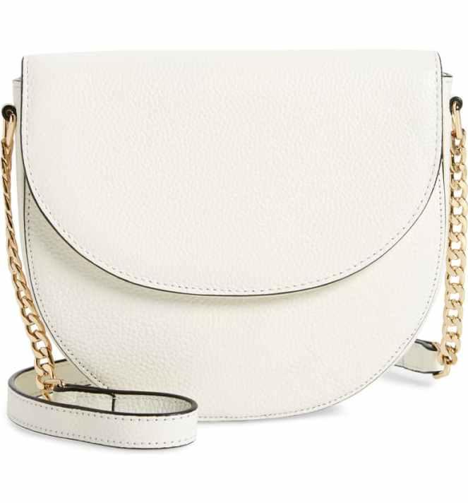 Nordstrom White Crossbody Handbag