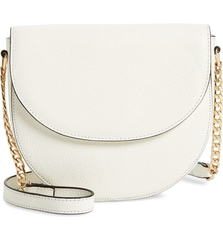 Nordstrom White Crossbody Handbag