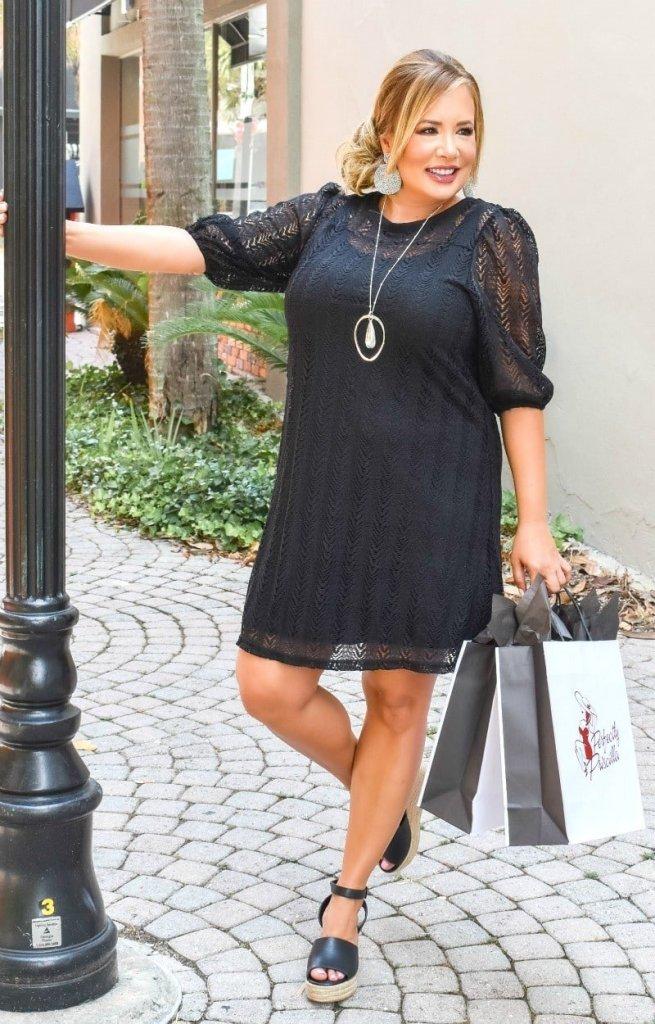 Perfectly Priscilla Black dress