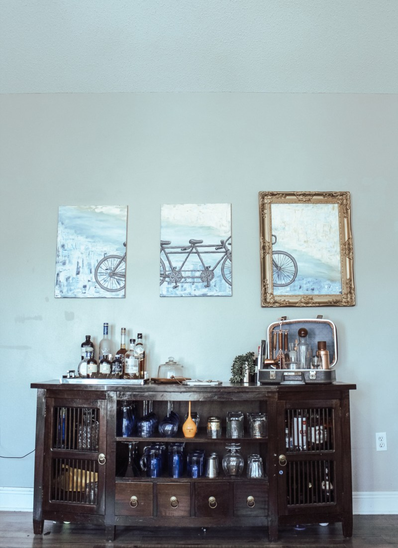 At Home with the Kings: Updating our Home Bar