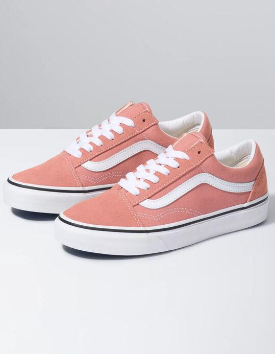 Rose colored vans.  Just peachy.