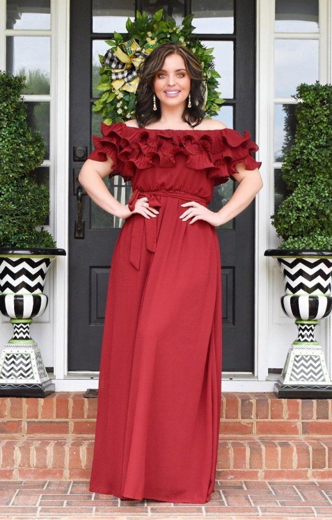 Maxi dress Pre-Fall Perfectly Priscilla
