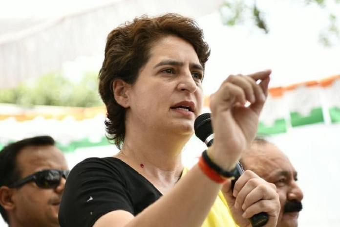 Image result for Priyanka Gandhi asked: Why is BJP so confused about the economy?