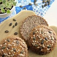 Bułki bez drożdży i mąki pszennej - migdałowe, Keto