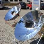 Das Standart-Modell SK 14. Ein reiner Solarkocher.