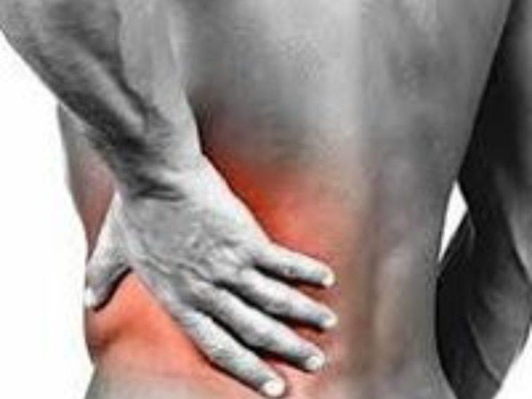 Werkhouding bij lage rugpijn.