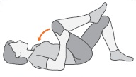rugpijn stretchoefening
