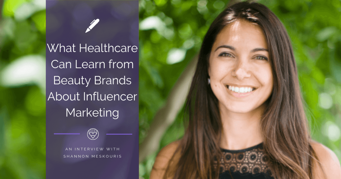Shannon Meskouris, WEGO Health Patient Leader Network Recruitment Manager and Influencer Marketing Expert