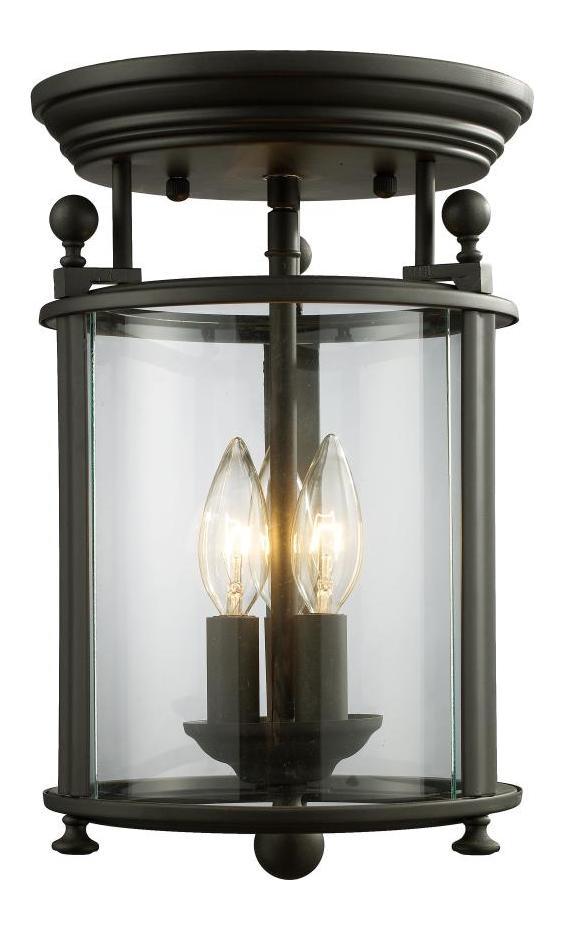 Cage Flush Mount Light