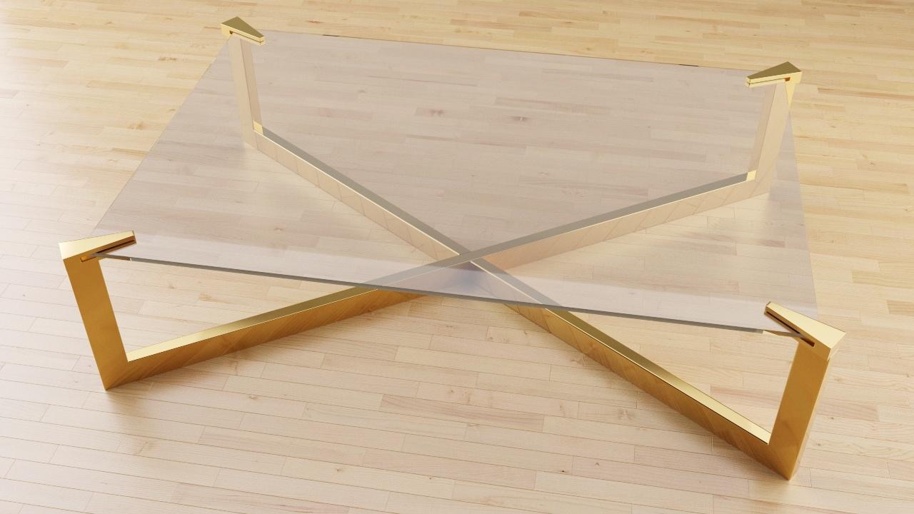 Modello n 24 gambe in oro
