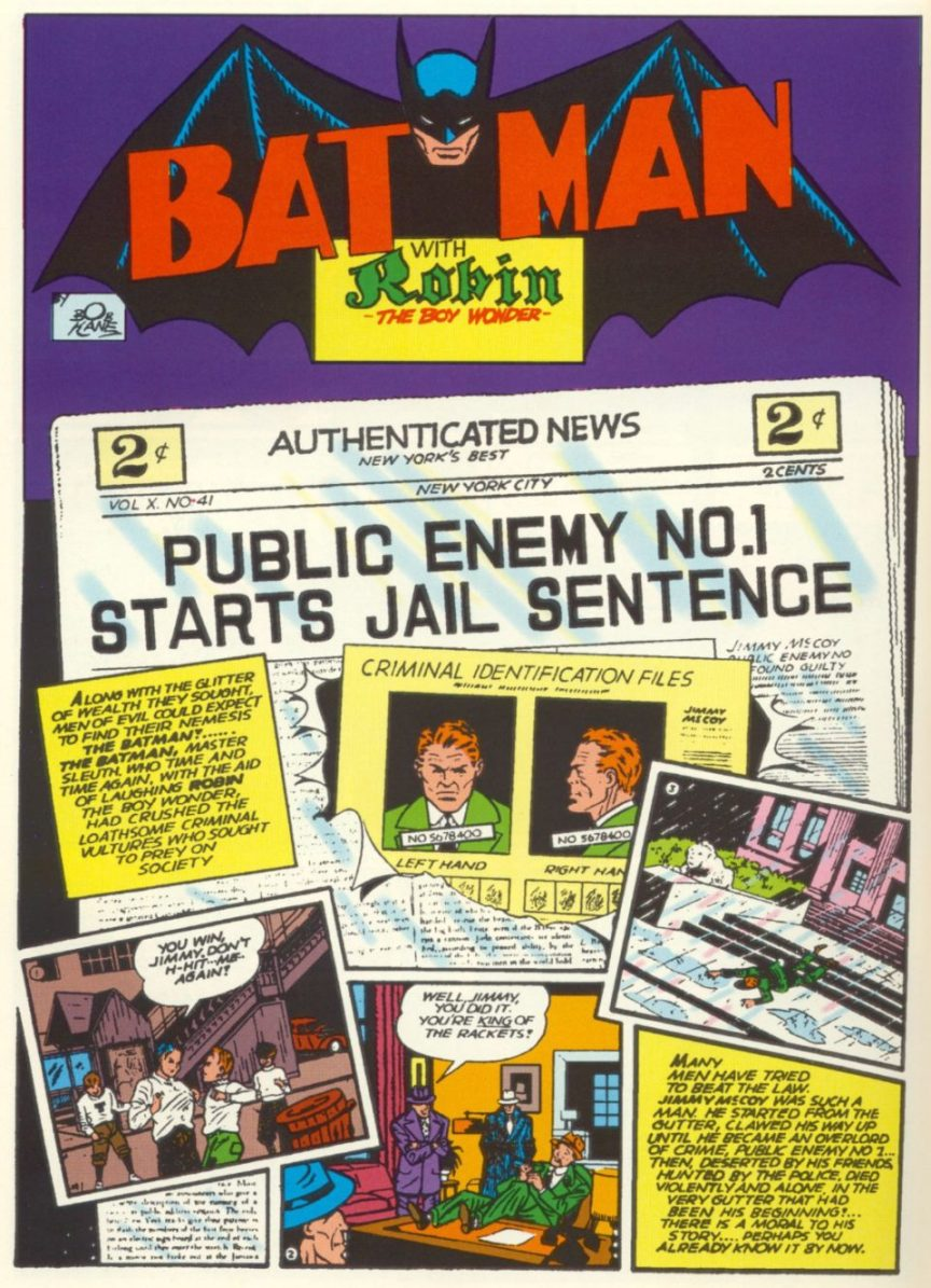 Batman 4-3 -1