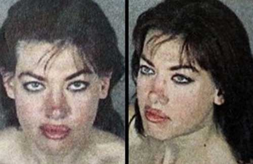 Layla Trawick in her West Hollywood Sheriff's Station Booking Photo