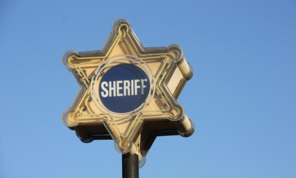 West Hollywood Sheriff's Station Sign (Michael Dorausch/Flickr)