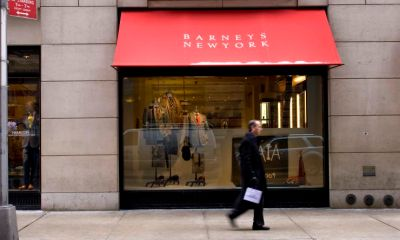 Barneys, a nearly century-old icon of New York retail, files for bankruptcy