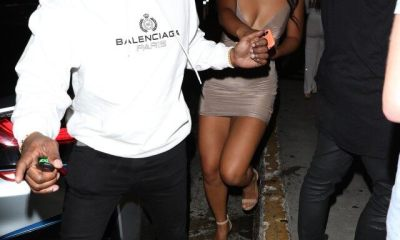 Jamie Foxx Holds Hands With Singer Sela Vave During Night Out in L.A.