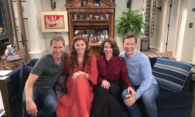 The cast of Will & Grace (credit: NBCUniversal)
