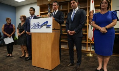 Newsom sidesteps right-to-shelter plan, but says homeless on streets 'cannot persist'