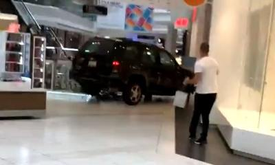 Driver Plows Car Through Mall in Chicago Suburb