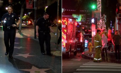 2 Shot Along Walk of Fame in Hollywood