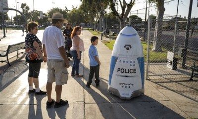 A RoboCop, a park and a fight: How expectations about robots are clashing with reality