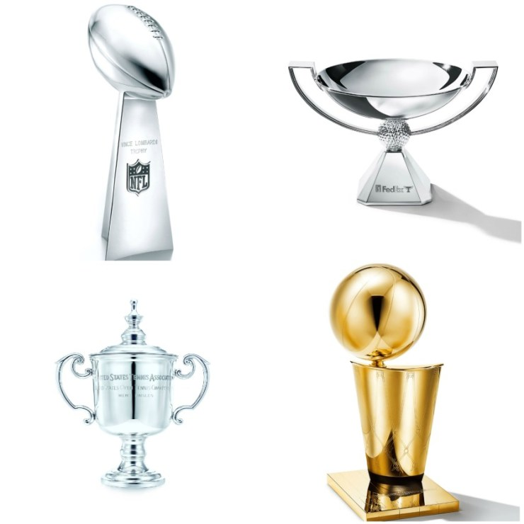 Tiffany & Co Grove Pop-up to Host Four of the Sports World's Championship Trophies