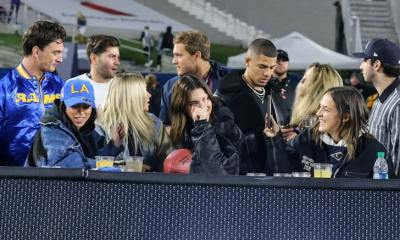 Kylie, Kendall & Stassie Club Hop with Tyler C After Rams Game
