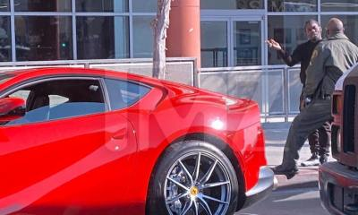 Offset Pulled Over for Speeding in Superfast Ferrari