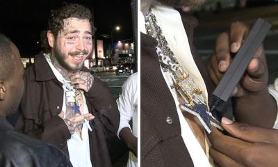 Post Malone Gets Diamonds Tested For Authenticity And They Check Out