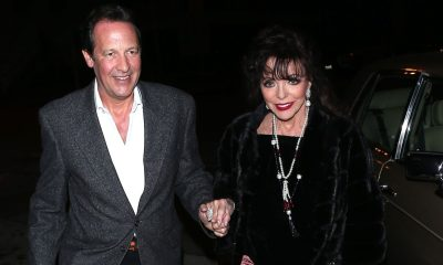 Joan Collins and Husband Percy Spotted on Romantic WeHo Date