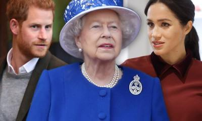 Meghan Markle & Prince Harry Abandon Royal Titles, Queen Bids Farewell