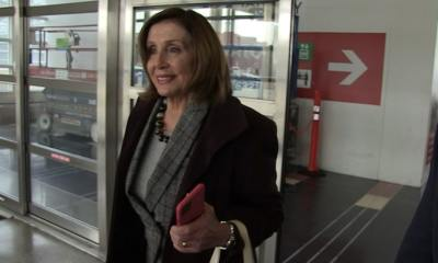 Nancy Pelosi Rips Trump for Retweet of Her in Islamic Garb