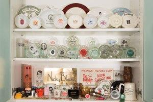 Alison Martino's collection of old Sunset Strip nightclub and restaurant memorabilia. (Photo by Steffanie Walk)