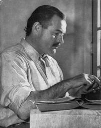 Ernest Hemingway (Photo courtesy of the Library of Congress)