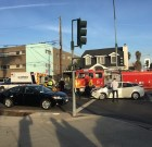 Car Collides with Van on Fountain Avenue at Gardner This Afternoon