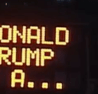 (Just Kidding?) WeHo Announces Street Signs Counting Down Trump's Exit