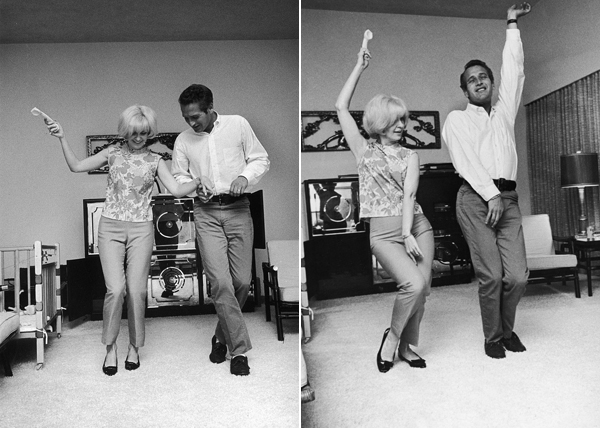 Paul Newman Joanne Woodward dance