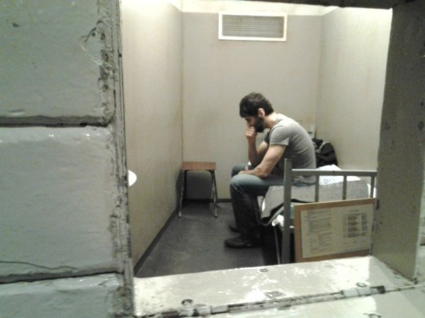 Roosh, apparently in custody in Poland. Photo from Roosh V Forum