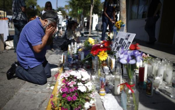 Memorial in Santa Barbara