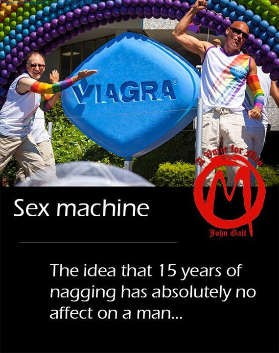 Er, why did you use a picture of a Viagra float at a Pride Parade?
