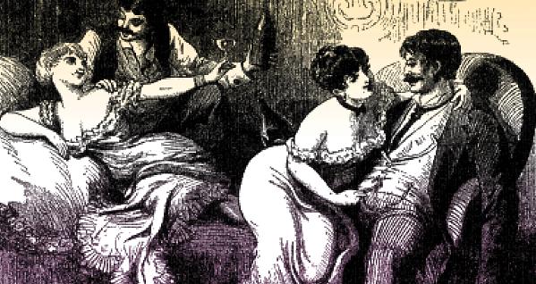 Evil prostitutes exploiting men
