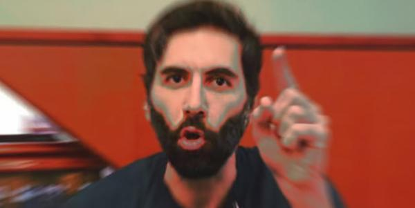 """Roosh celebrates his """"victory"""" in Montreal"""