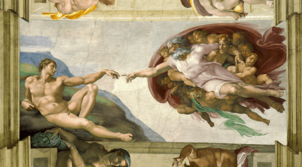 Hey Ladies! Did Michelangelo paint this to impress some chick?