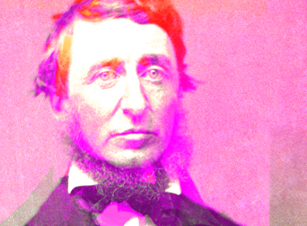 Henry David Thoreau: The original neckbeard