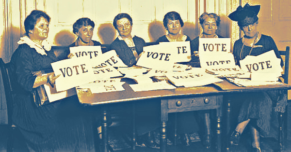 Women: Even their votes are bigger than men's