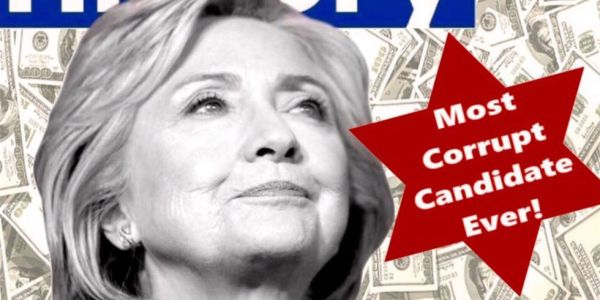 "Remember this antisemitic anti-Hillary meme? The_Donald is trying to Googlebomb it to the top of the results for the word ""corrupt"""