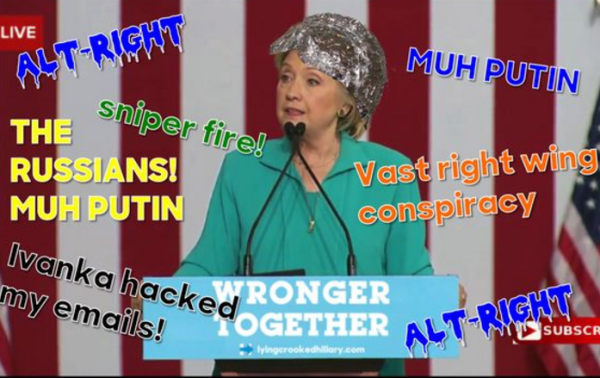 The alt-right offers a powerful rebuttal of Hillary's speech